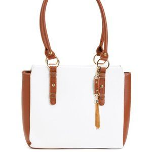 NWT ALESSIA BIANCHI Leather Handbag